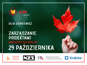 Zabezpieczony: 29 października – Zarządzanie Projektami dla NZS UP